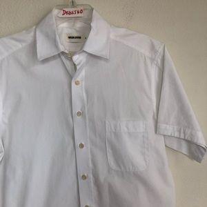 Taylor Stitch Short Sleeve Button Down Shirt S